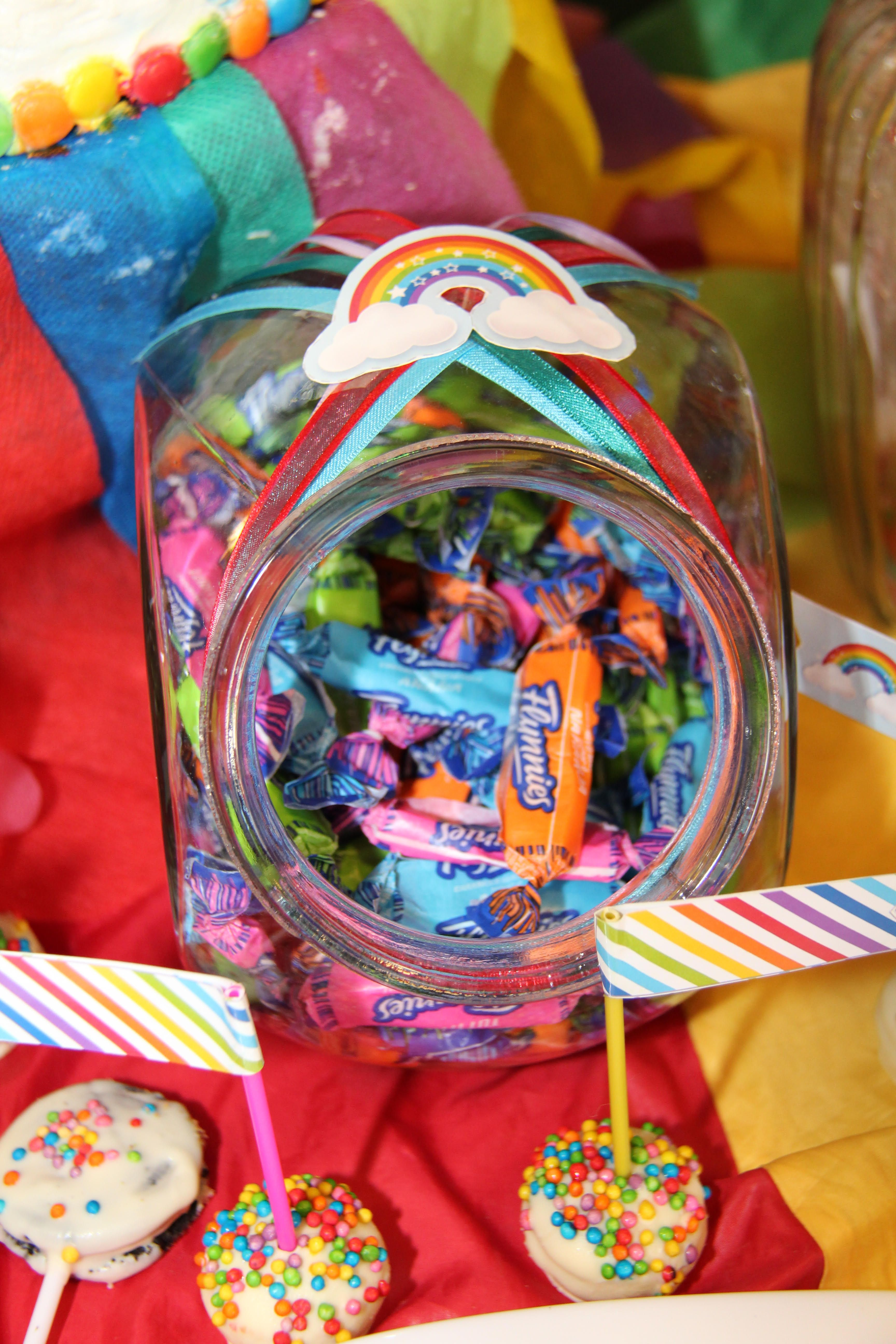 Caramelos coloridos Kit Arco Iris Todo Bonito