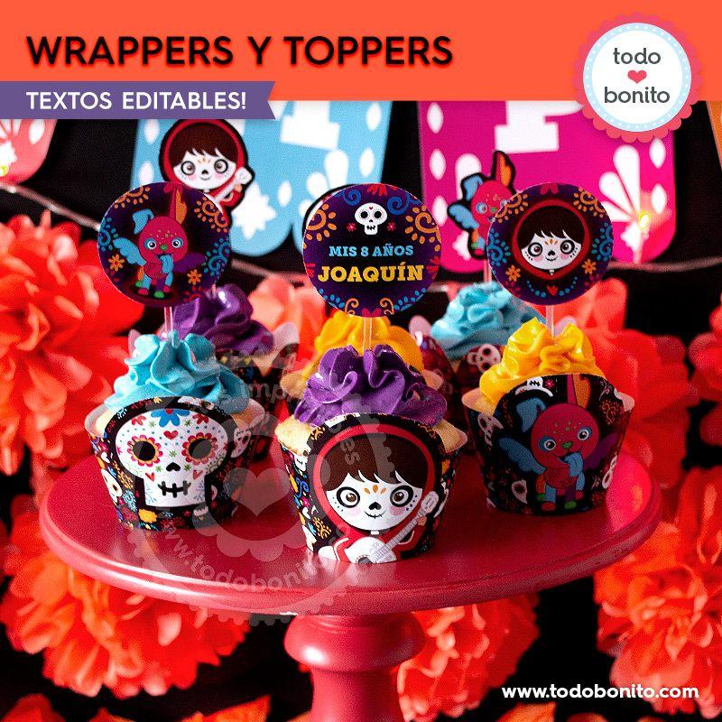 Cupcakes de Coco por Todo Bonito