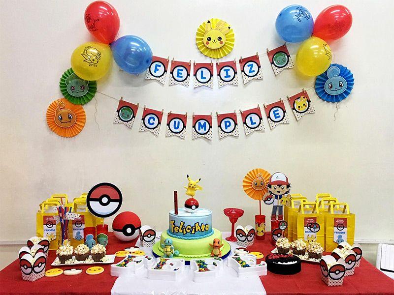 Cumpleaños Kit Pokémon imprimible Todo Bonito
