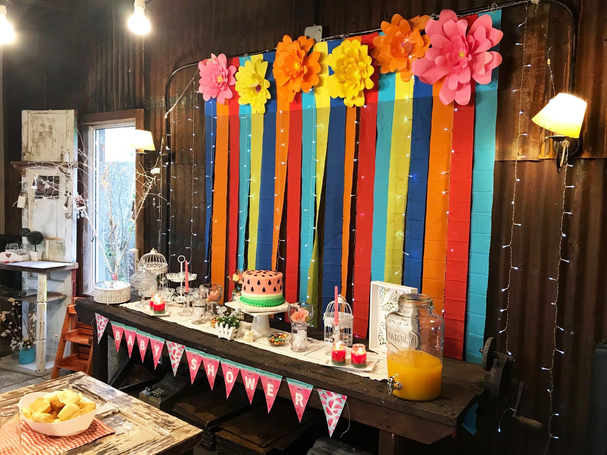 Mesa decorada Kit Sandias Todo Bonito