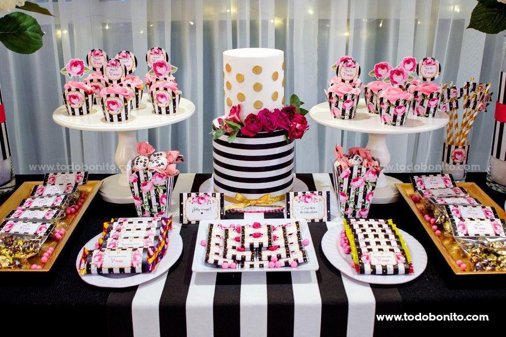 Ideas torta fiesta de 40 años por Todo Bonito