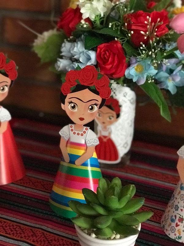 Imagen de Frida Kahlo 3D para imprimir