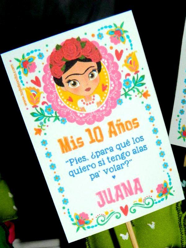 Souvenirs cactus Frida Kahlo