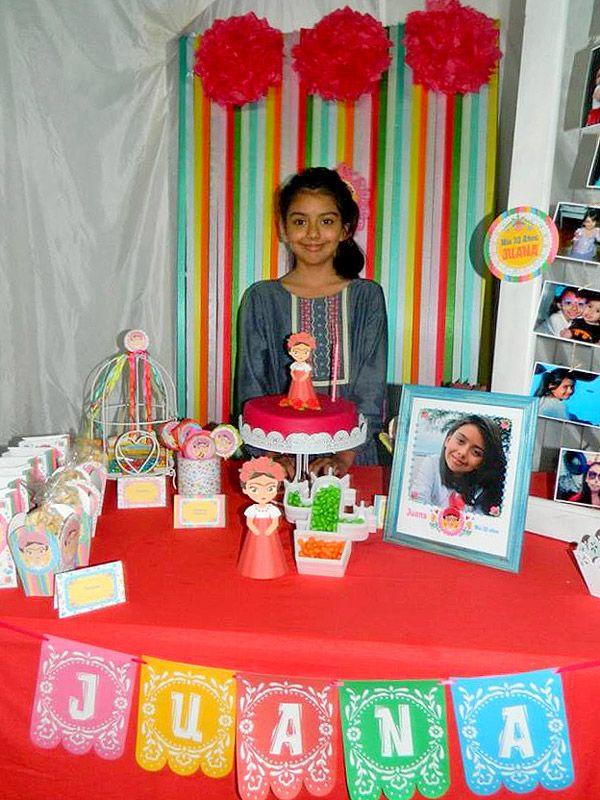 Mesa dulce Frida Kahlo