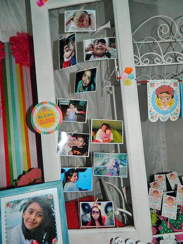 Decoraciones Frida Kahlo