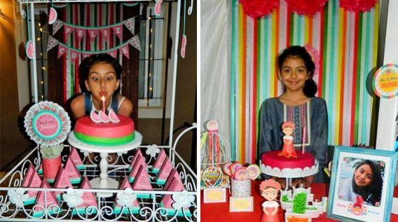 Juana cumplió 10 y tuvo ¡doble festejo!