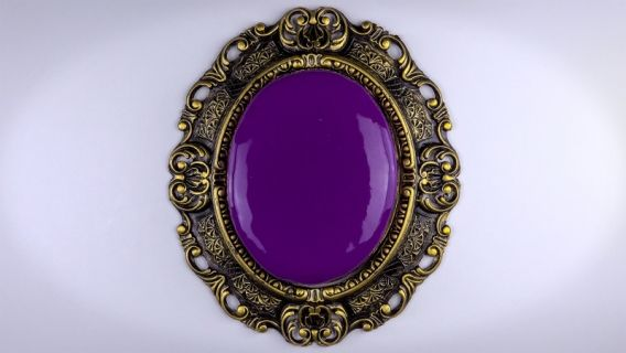 Torta espejo de Blanca Nieves