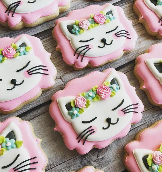 Cookies de gatitos