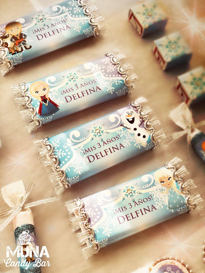 Golosinas personalizadas con Kit Imprimible Frozen Todo Bonito