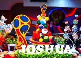 Joshua y un cumpleaños mundialista a todo color