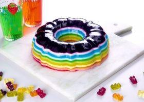 Gelatina arcoíris