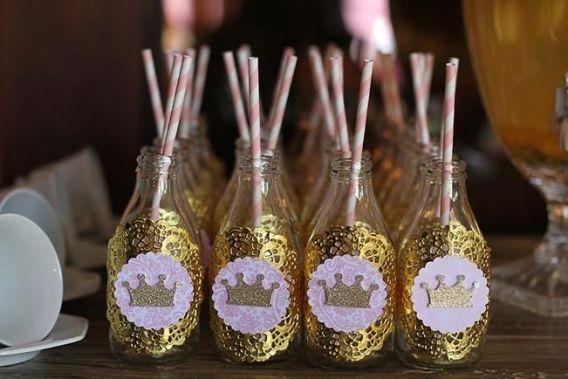 Decoraciones para una fiesta de coronita