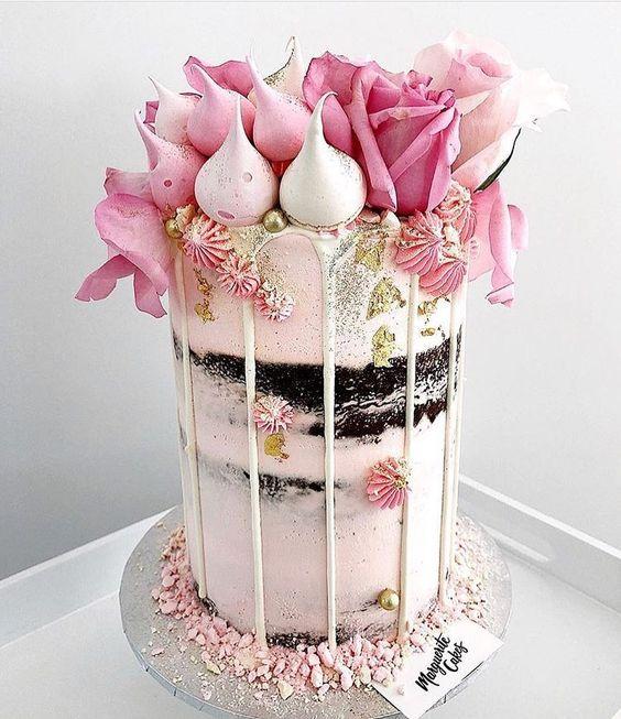 Drip Cake, las 20 mejores tortas