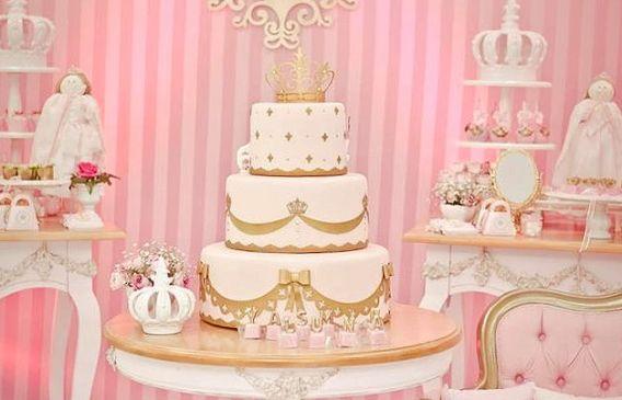 Las más lindas tortas de coronita para niñas