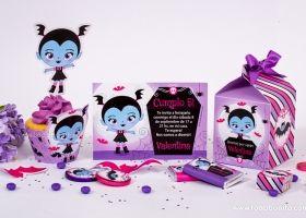 Diseños de Vampirina para decorar tu cumple