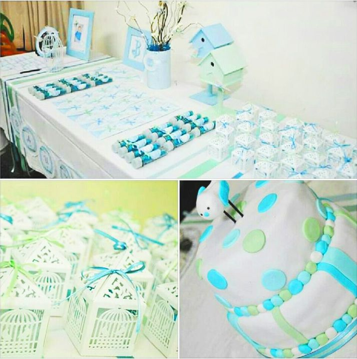 Mesa decorada con imprimibles de Todo Bonito