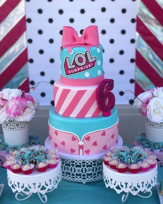 1afc07b7f Hermosas tortas para una fiesta de LOL Surprise - Todo Bonito