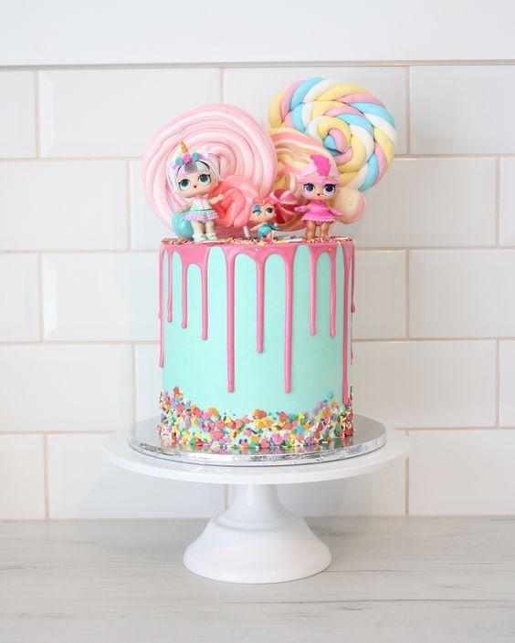 Hermosas Tortas Para Una Fiesta De Lol Surprise Todo Bonito
