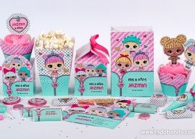 Los más lindos kits imprimibles de LOL