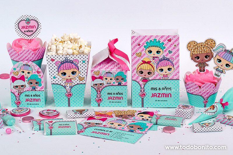 Kits Imprimibles LOL Surprise por Todo Bonito