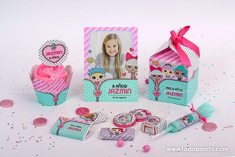 Kits para imprimir de LOL por Todo Bonito