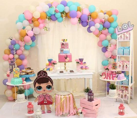 Ideas cumpleaños LOL Surprise