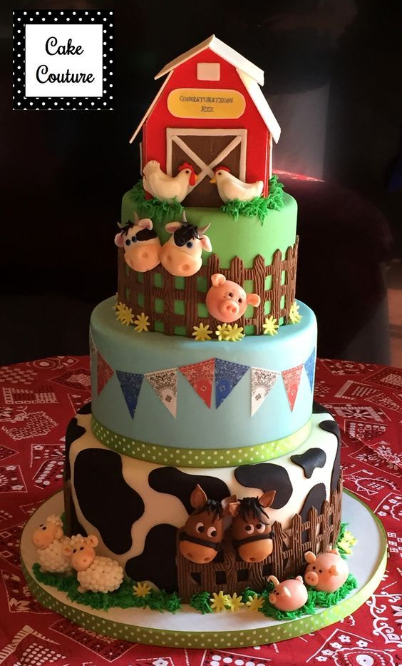 Las más lindas tortas de la granja de Zenón