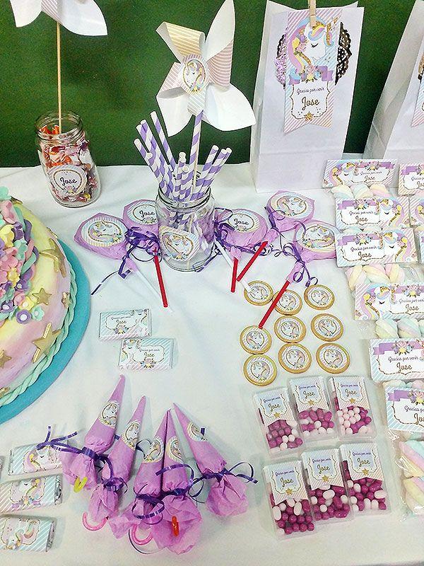 Ideas cumpleaños Unicornio Todo Bonito