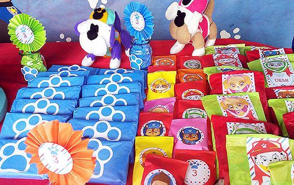 Golosinas personalizadas con Kits imprimibles Paw Patrol Todo Bonito