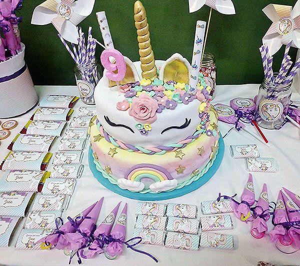 Torta Unicornio Todo Bonito