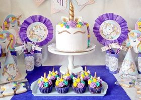 Nuestro diseño Unicornios by Sweet Sins Cupcakes