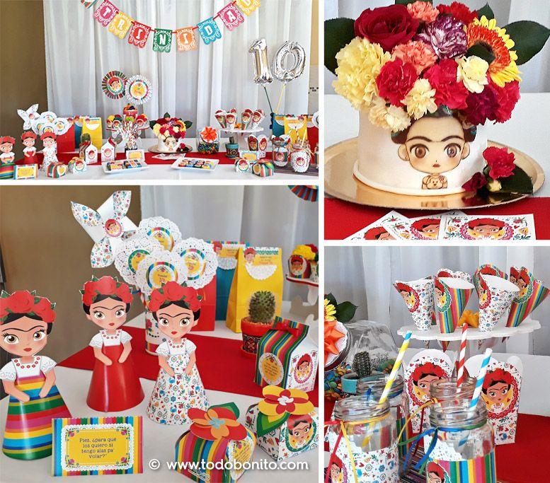 Originales Decoraciones con Kit Frida de Todo Bonito