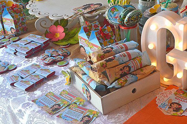 Candy bar imprimible de Moana por Todo Bonito