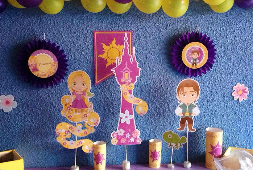 Imágenes Imprimibles de Rapunzel by todo bonito