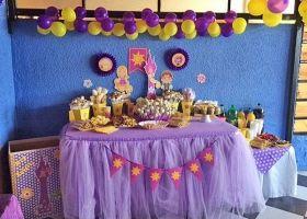 Un cumple de Rapunzel desde Chile
