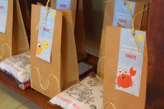 Souvenirs con kit imprimible animalitos de mar de Todo Bonito