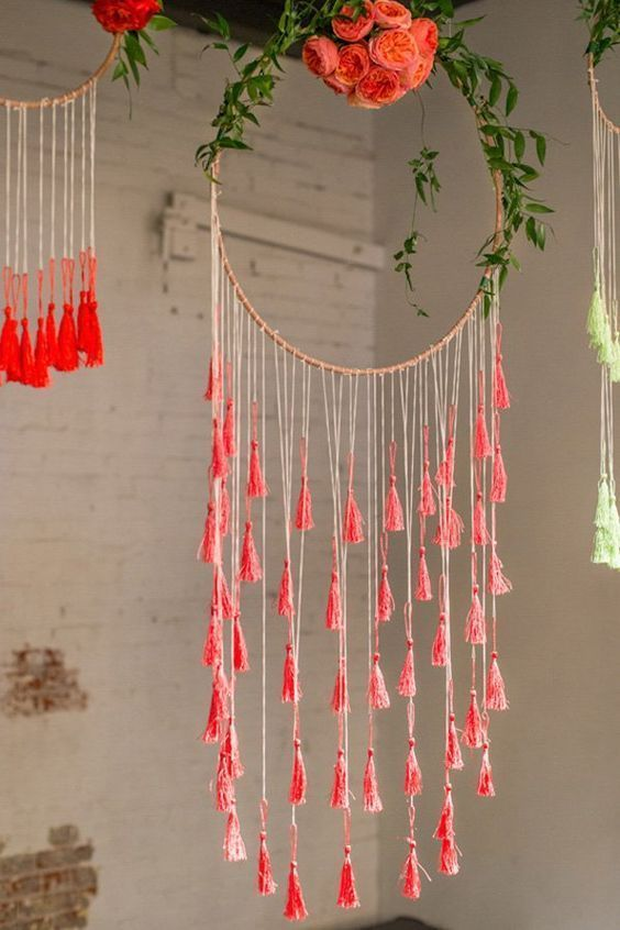 Ideas creativas para decorar con hula-hula