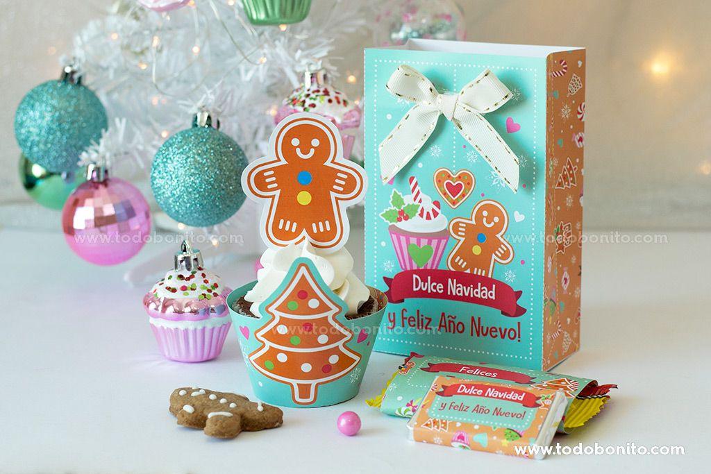 Diseños imprimibles de Navidad por Todo Bonito
