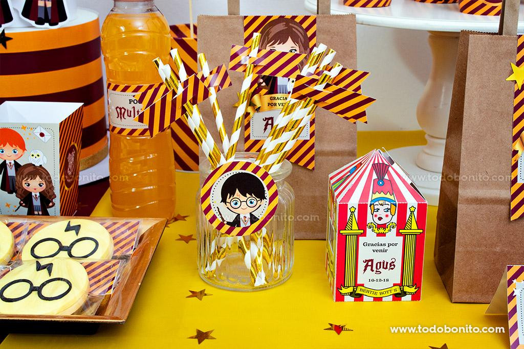 Kits imprimibles de Harry Potter por Todo Bonito