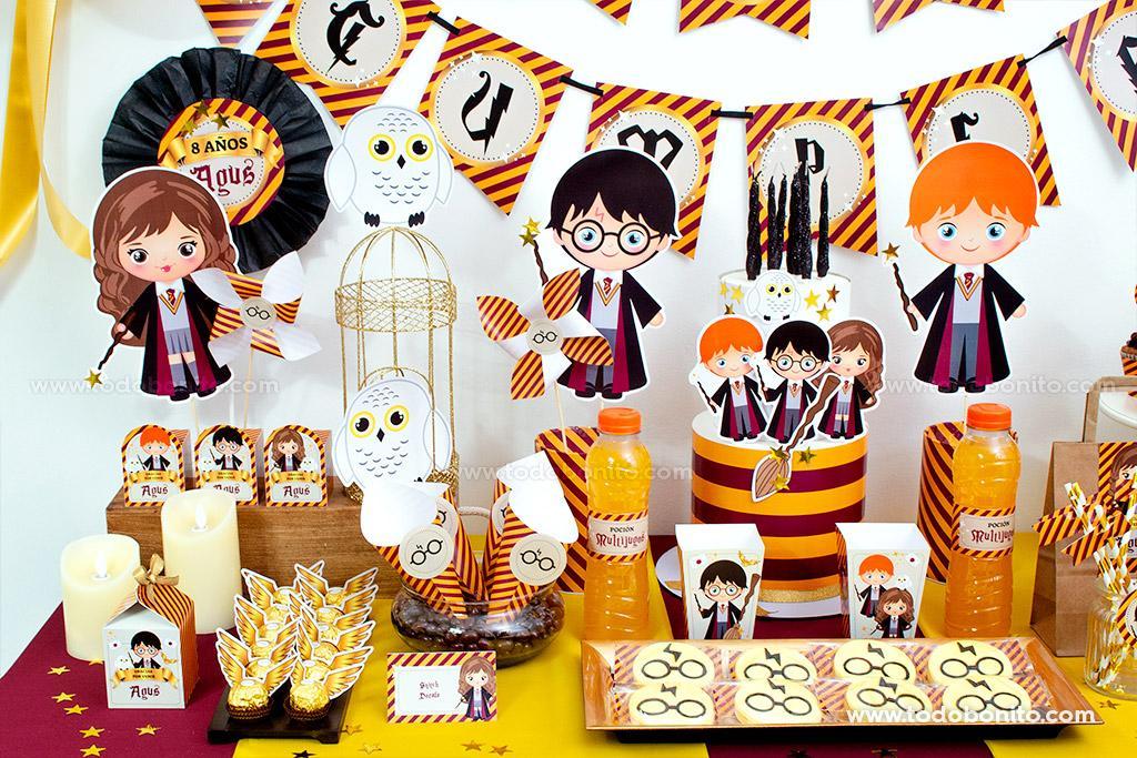 Cumpleaños de Harry Potter por Todo Bonito