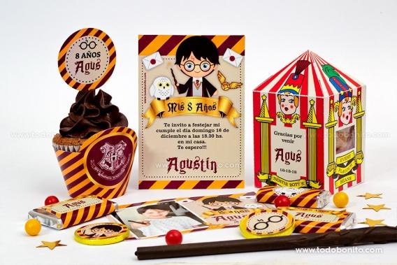Diseños para imprimir de Harry Potter por Todo Bonito