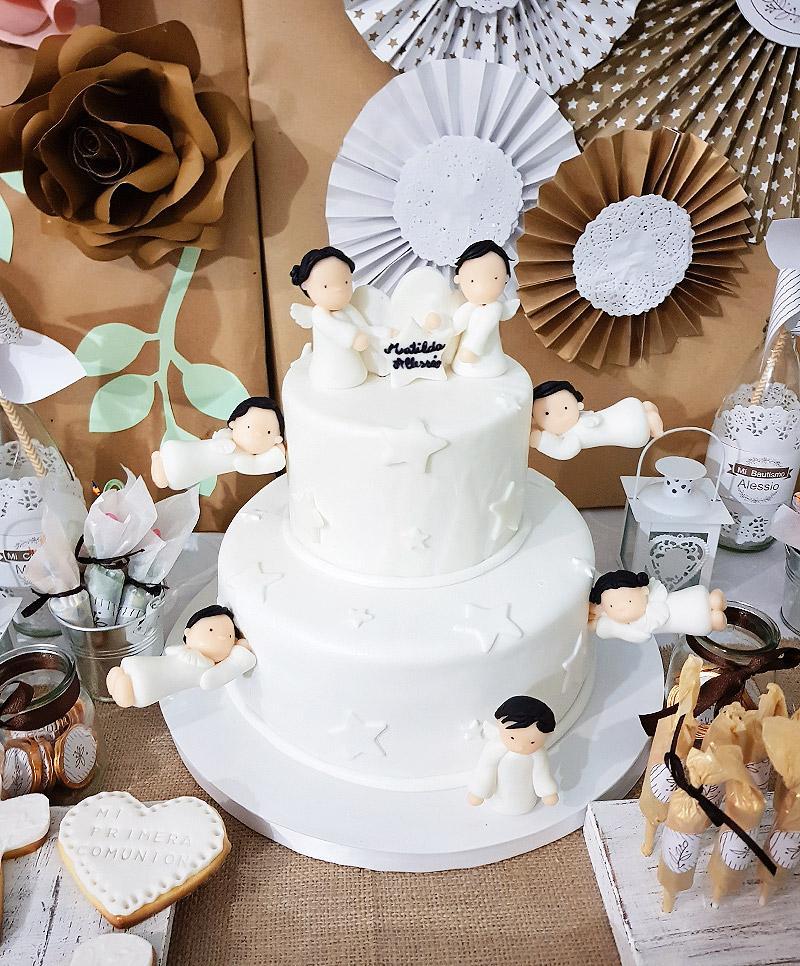 Torta y Decoraciones con temática estilo rustico de Todo Bonito