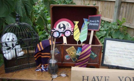 Ideas para una fiesta con la temática de Harry Potter