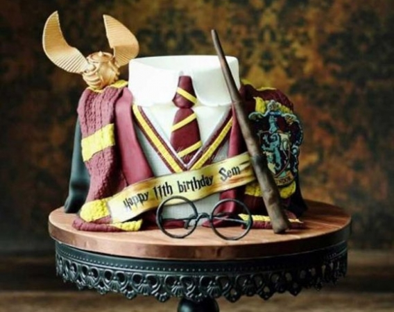 Mágicas tortas de Harry Potter