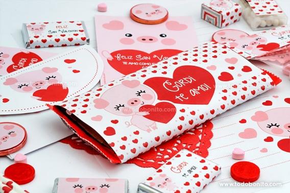 Chocolates personalizados para San Valentín por Todo Bonito