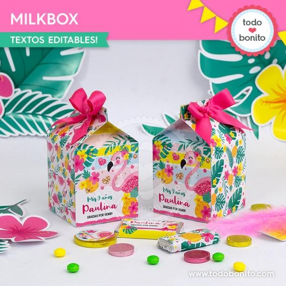 Milkbox Flamenco y Ananá por Todo Bonito