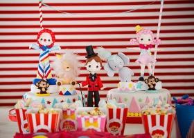 El primer añito y bautismo de los mellis con el circo de Todo Bonito