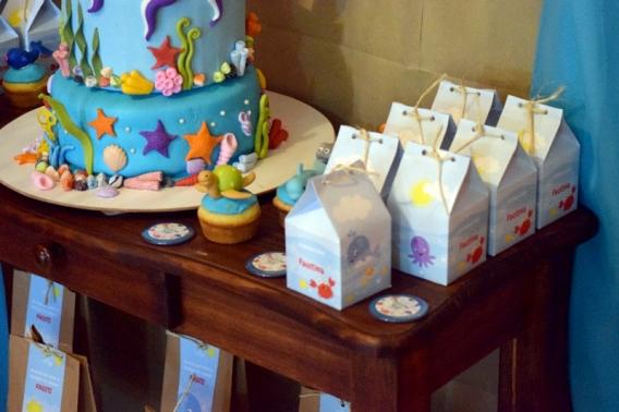 Souvenirs milkbox animalitos de mar Todo Bonito