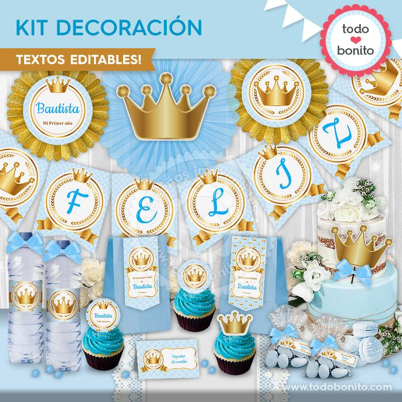 Kit decoración de Coronita de Todo Bonito