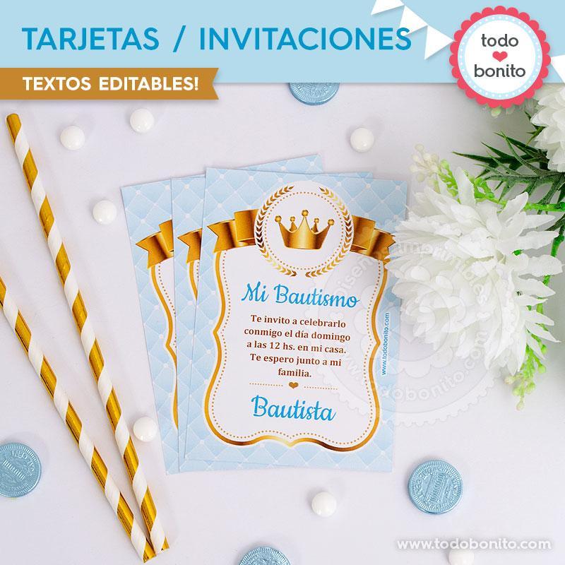 Tarjetas e invitaciones de Coronita por Todo Bonito